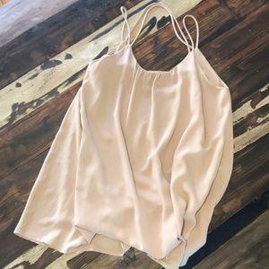 Nude/ tan dress